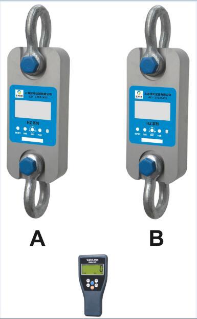 双通信3T无线拉力计 既有RS232也有USB接口